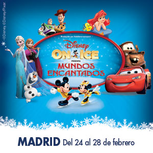 Disney On Ice - Mundos Encantados