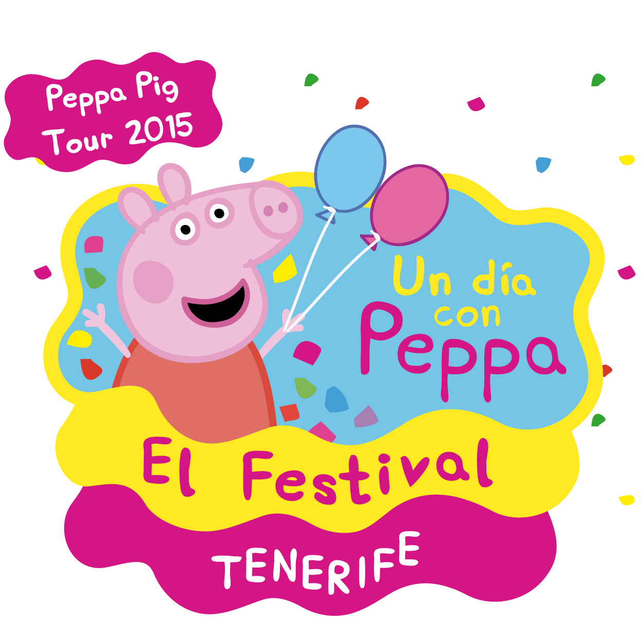 Festival peppa pig tour un d a con peppa tenerife santa for Espectaculo peppa pig uruguay