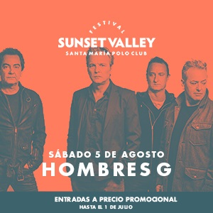 Sunset Valley Festival - Hombres G