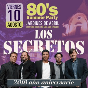 Los Secretos en la 80´s Summer Party