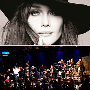 Carla Bruni/ Mingus Big Band