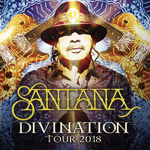 "SANTANA ""DIVINATION TOUR 2018"""