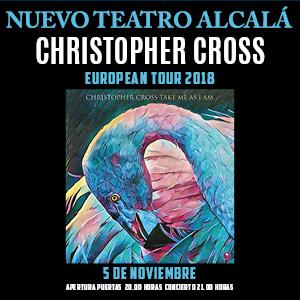 "Christopher Cross ""European Tour 2018"""