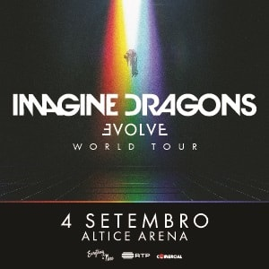 Imagine Dragons - Evolve World Tour - Lisboa 2018